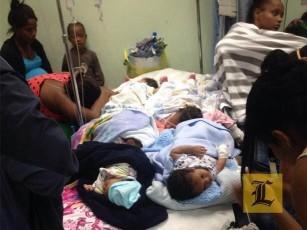5 nenes en una cuna!!!